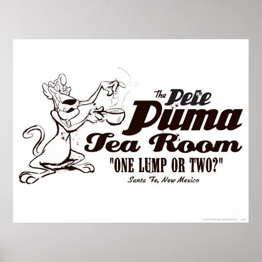 Pete Puma Tea Room 2 Poster
