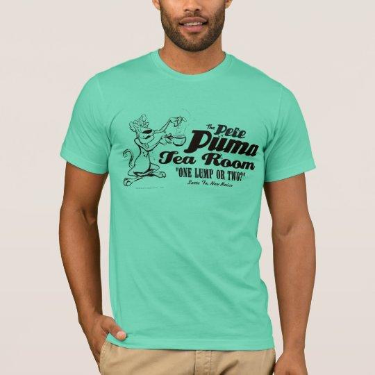 c4146a87da6 Pete Puma Tea Room 2 T-Shirt | Zazzle.com