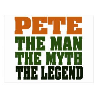 Pete - the Legend Postcard