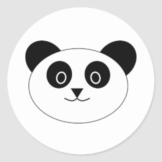 Pete the Panda Classic Round Sticker