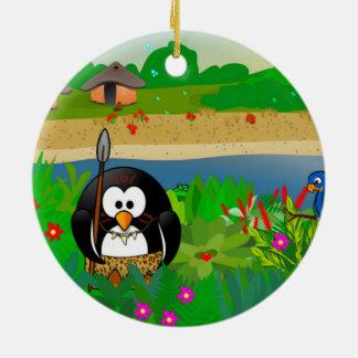 Pete The Penquin Christmas Ornament