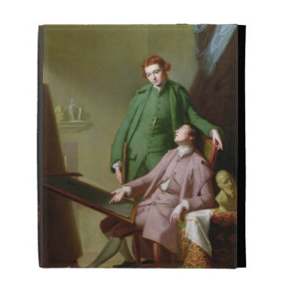 Peter and James Romney, 1766 (oil on canvas) iPad Folio Covers