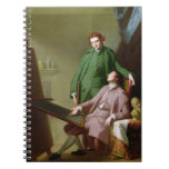 Peter and James Romney, 1766 (oil on canvas) Notebook