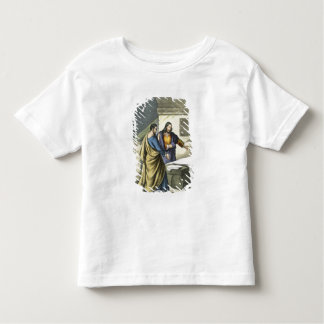 Peter and John at the Sepulchre, from a bible prin Toddler T-shirt