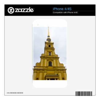 Peter and Paul Fortress St. Petersburg Russia iPhone 4 Skins