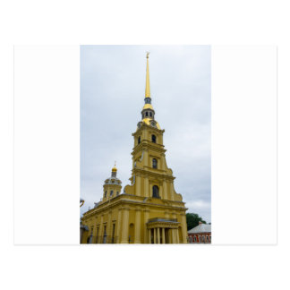 Peter and Paul Fortress St. Petersburg Russia Postcard