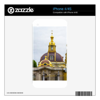Peter and Paul Fortress St. Petersburg Russia Skin For iPhone 4