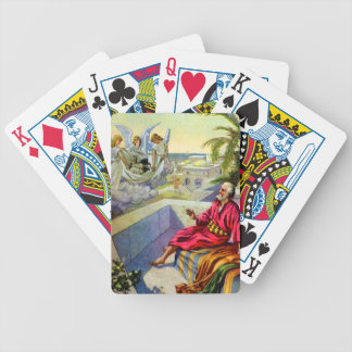 peter and the roman captain playing cards