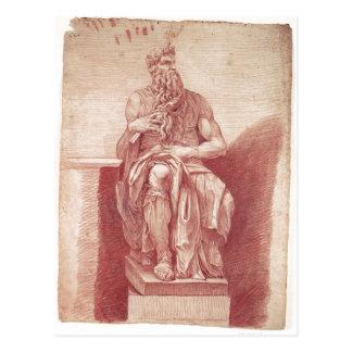 Peter Antón von Verschaffelt: Vo del DES Moses de  Postal