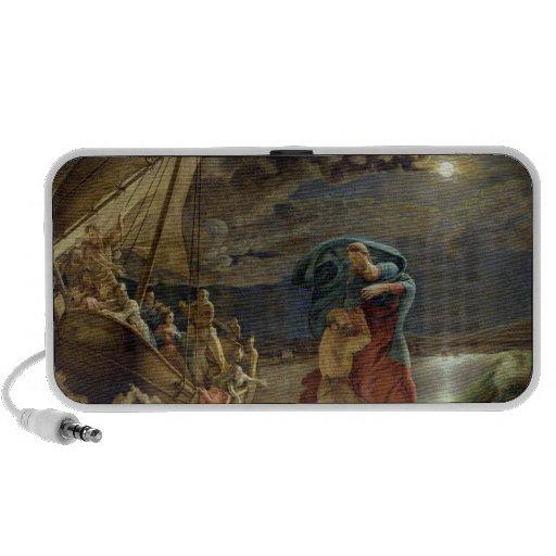 Peter camina en el agua, 1806 iPod altavoces