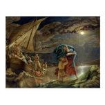 Peter camina en el agua, 1806 postales