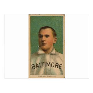 Peter Cassidy, Baltimore, baseball card