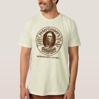 Peter Cooper's Gelatine T-shirt - Brown