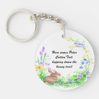 Peter Cotton Tail - Keychain