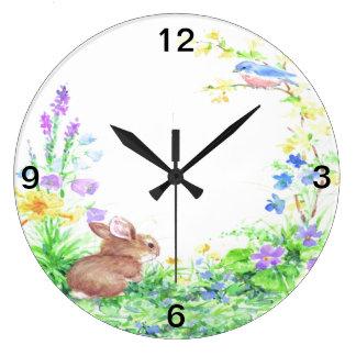 Peter Cotton Tail - Large Clock