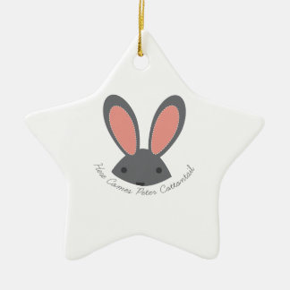 Peter Cottontail Christmas Tree Ornaments