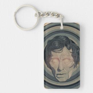 Peter Cushing espeluznante Llavero Rectangular Acrílico A Una Cara