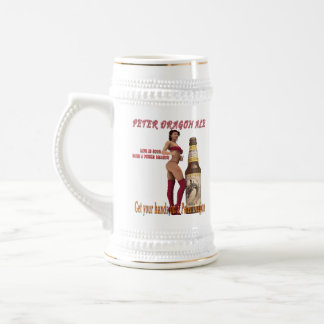 Peter Dragon Ale life is good Beer Stein