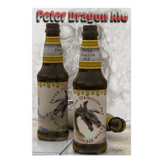 PETER Dragon Ale poster 2011