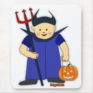 Peter el diablo azul tapete de ratón