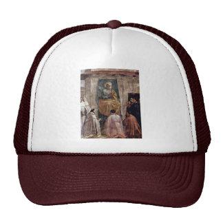 Peter en cátedra por Masaccio (la mejor calidad) Gorros Bordados