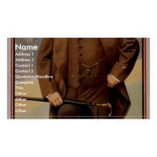 Peter F Dailey Hodge Podge Co Vintage Theat Business Card Template