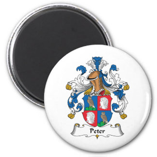 Peter Family Crest Magnet