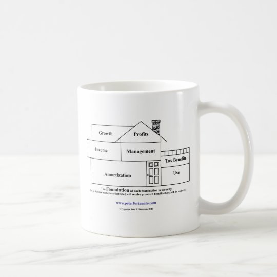 Peter Fortunato Investment Benefits House Coffee Mug