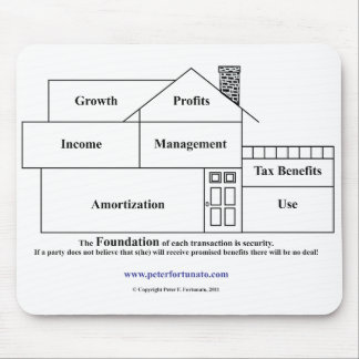 Peter Fortunato Investment Benefits House Mouse Pad