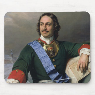 Peter I the Great  1838 Mouse Pad