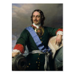 Peter I the Great  1838 Postcard