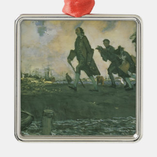 Peter I the Great  1907 Metal Ornament