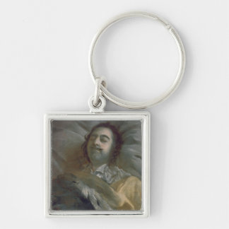 Peter I  the Great on his Deathbed, 1725 Keychain