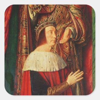 Peter II de Beaujeu of Bourbon Square Sticker