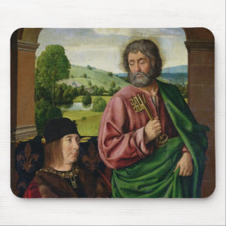 Peter II  Duke of Bourbon presented Mouse Pad