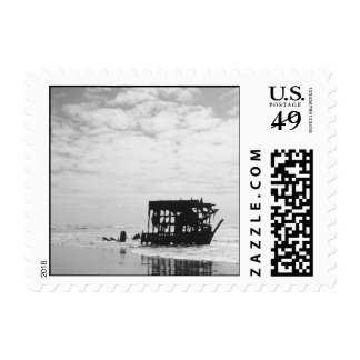 Peter Iredale Oregon Coast Shipwreck Postage Stamp
