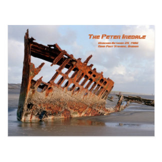 Peter Iredale Shipwreck, Fort Stevens, Oregon Post Postcard