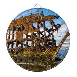 Peter Iredale Shipwreck - Oregon Coast Dart Board