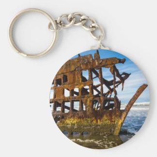 Peter Iredale Shipwreck - Oregon Coast Keychain