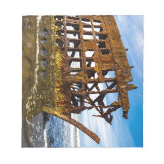 Peter Iredale Shipwreck - Oregon Coast Notepad