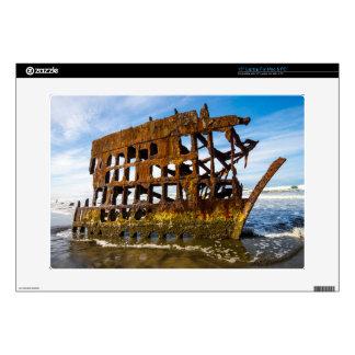 "Peter Iredale Shipwreck - Oregon Coast Skin For 15"" Laptop"