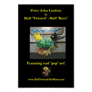 Peter Juan Lindsay es mitad torcida - medio nudo Póster