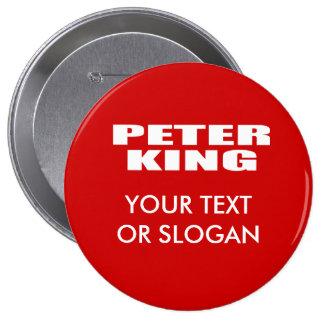 PETER KING FOR SENATE PIN
