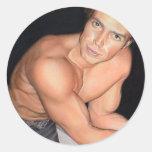 Peter Marr: www.AriesArtist.com Classic Round Sticker