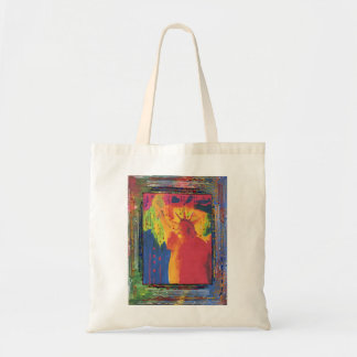 Peter Max style original acrylic painting Tote Bag