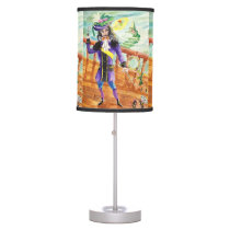 Peter Pan And Captain Hook Table Lamp
