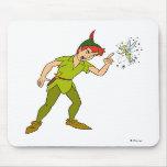 Peter Pan and Tinkerbell Disney Mouse Pads