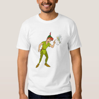 Peter Pan and Tinkerbell Disney T Shirts