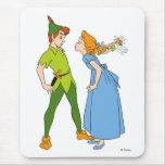 Peter Pan and Wendy Disney Mousepad