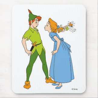 Peter Pan and Wendy Disney Mouse Pad